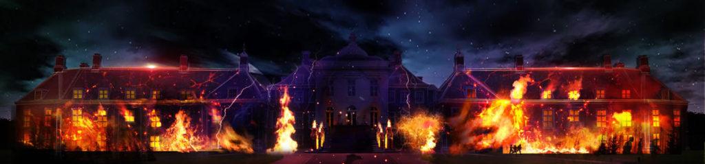 ハウステンボス 光の王国 回り方 パレスハウステンボス プロジェクションマッピング