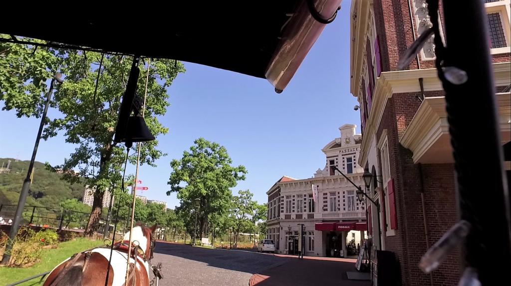 ハウステンボスの馬車ツアー体験 インスタ映え