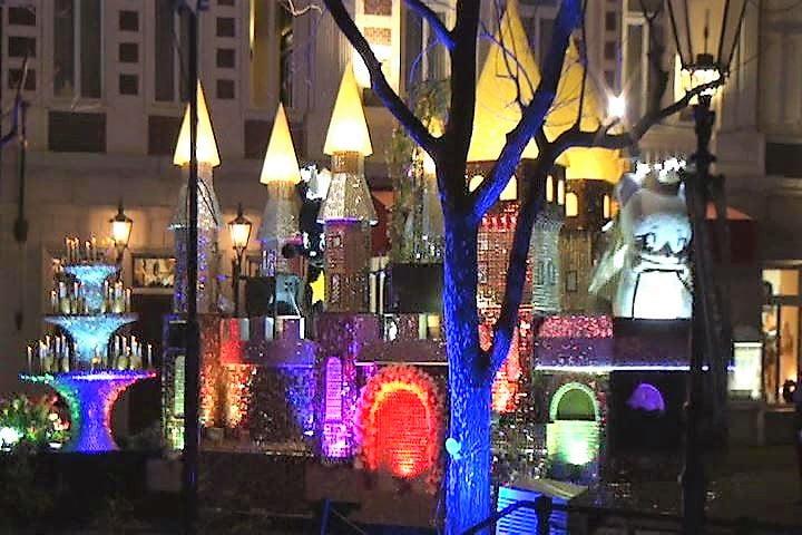 ハウステンボス 光の王国イベント、光のパレードのキララ インスタ映え