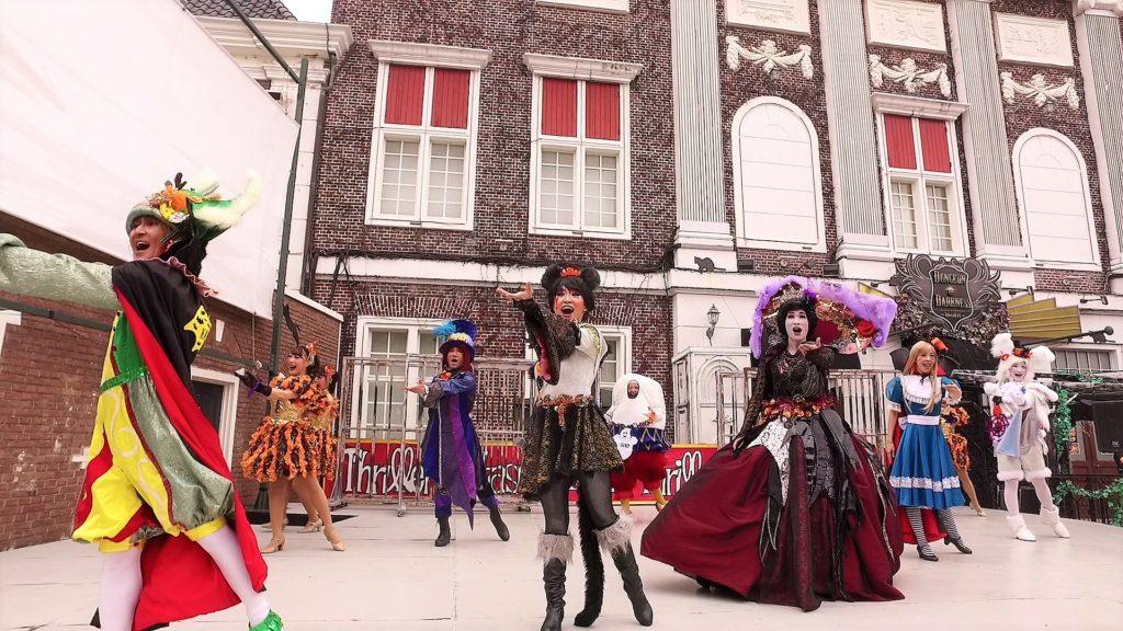ハウステンボスの未来ミュージカルによる公演「アリス」のプロモーション