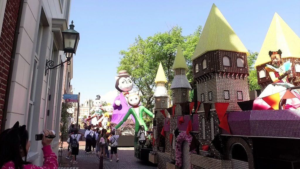 ハウステンボス ハロウィンキャットパレードの平日版