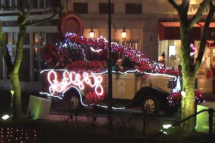 ハウステンボス 光の王国イベント、光のパレードのキラリ