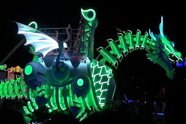 ハウステンボス 光の王国 光のドラゴンロボット インスタ映え