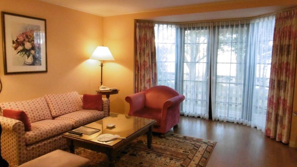 ハウステンボスのコテージ型ホテル、フォレストヴィラの部屋