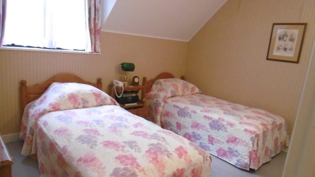 ハウステンボスのコテージ型ホテル、フォレストヴィラの寝室