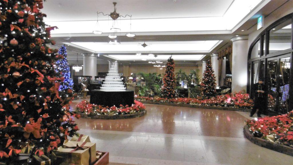 ハウステンボスの最高級ホテル、ホテルヨーロッパのロビー インスタ映え