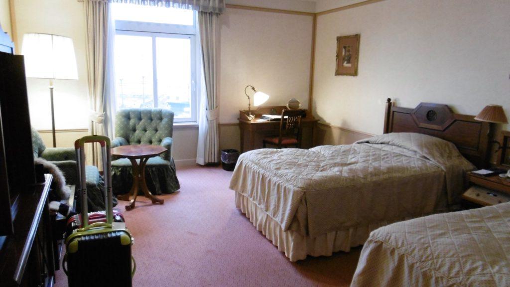 ハウステンボス最高級ホテル、ホテルヨーロッパの部屋 カップル