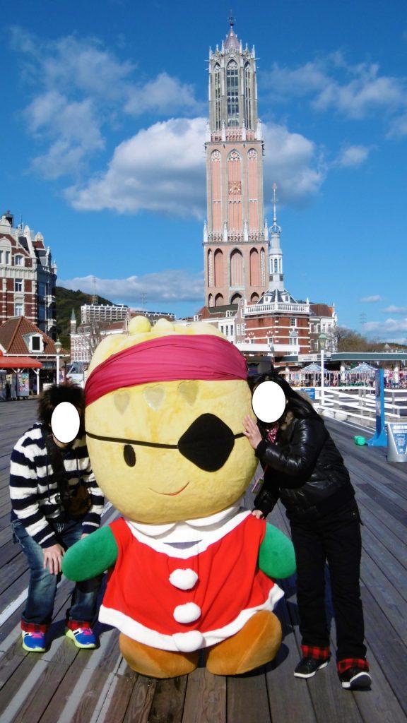 ハウステンボスのキャラクター、海賊ちゅーりー