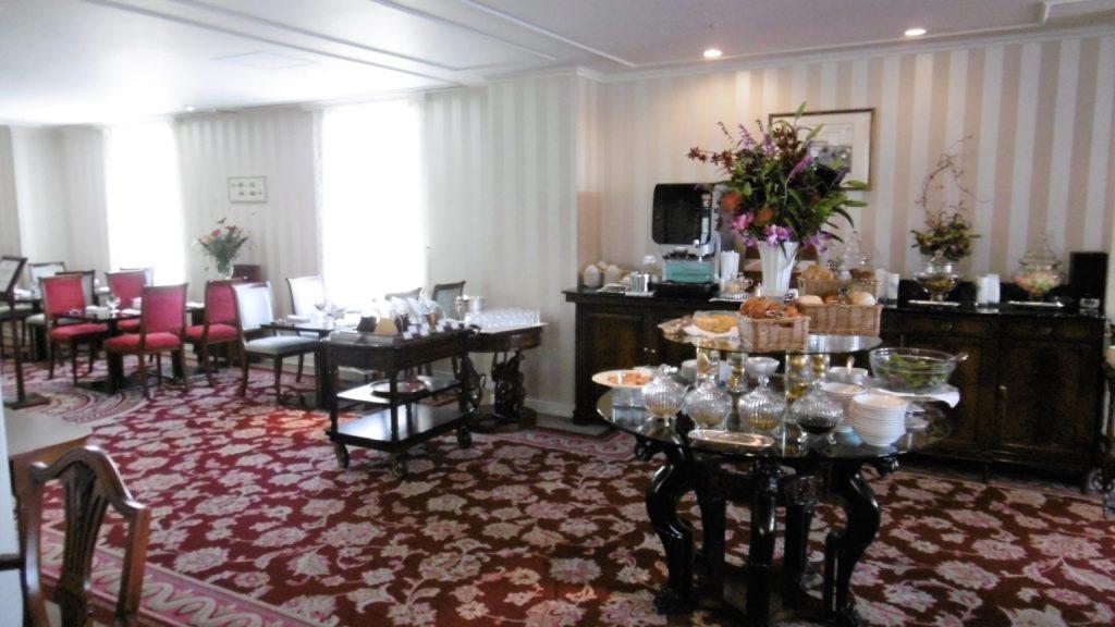 ハウステンボス唯一の園内ホテル、ホテルアムステルダムのクラブラウンジ