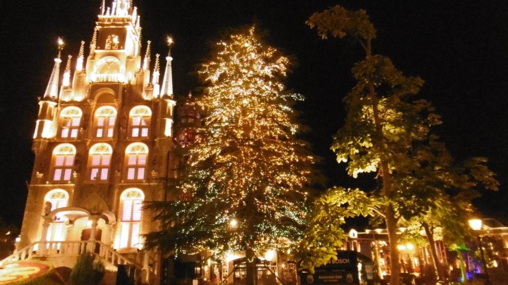 ハウステンボス 光の王国 回り方 アムステルダム広場 スタッドハウス