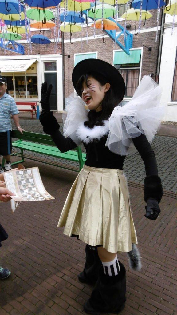 ハウステンボスのハロウィンイベント「WANTED CATS」より「ツイン1さん」