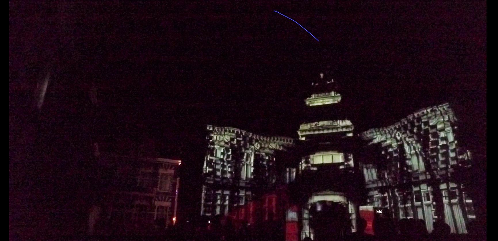 ハウステンボス 光の王国の回り方 スリラーシティでのプロジェクションマッピング