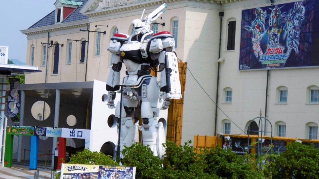 ハウステンボス ロボットの館の実物大パトレイバー、イングラム