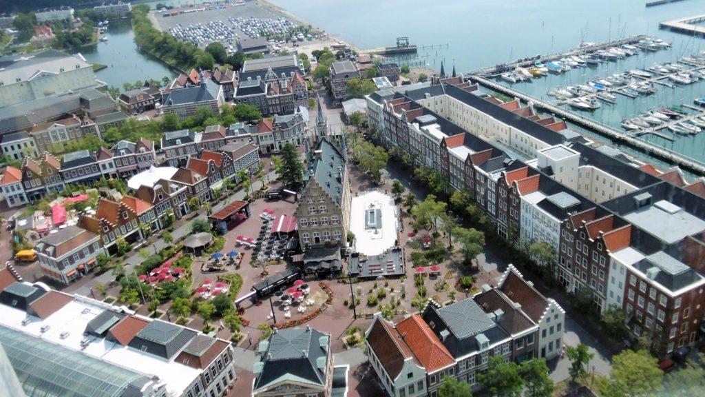 ハウステンボス ドムトールンから見たアムステルダムシティ