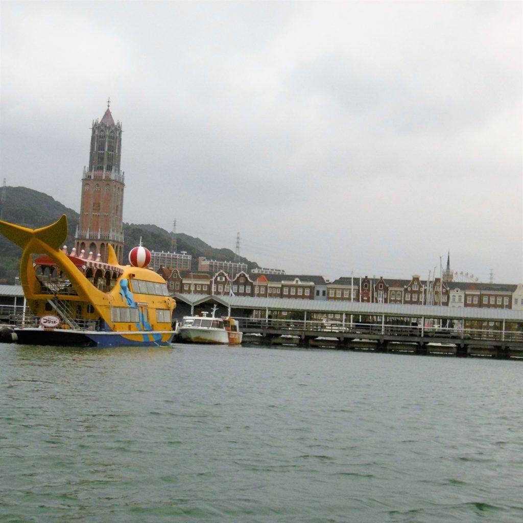 ハウステンボスの遊覧船、フリッパー