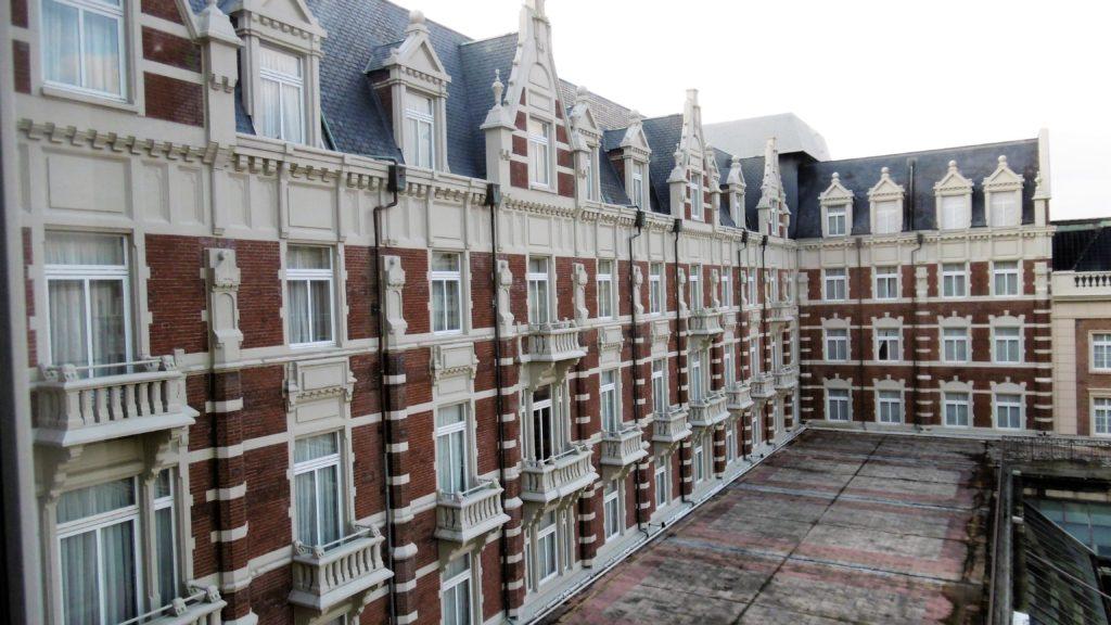 ハウステンボスのホテルヨーロッパのテラス