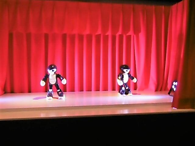 ハウステンボス ロボットの館のロボットステージショー