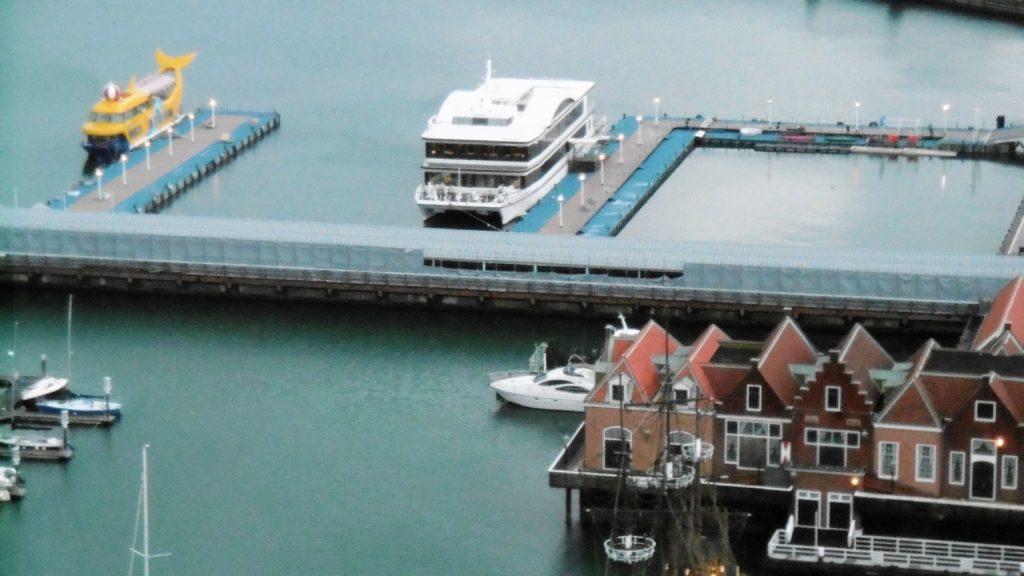 ハウステンボス ハーバータウンの船着き場