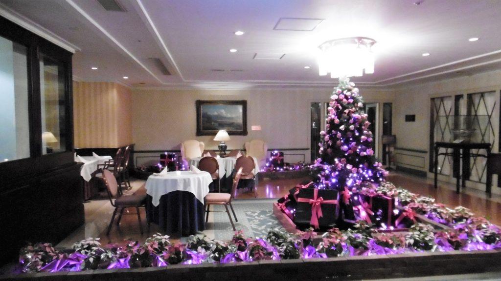 ハウステンボス クリスマス中のホテルヨーロッパ