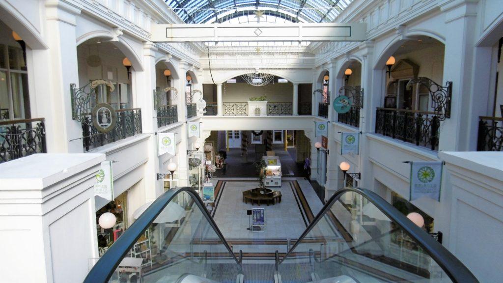 ハウステンボス アムステルダムシティのショッピングモール、パサージュ