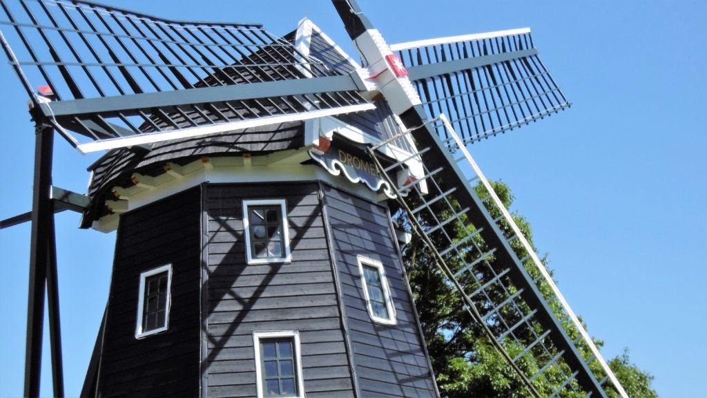 ハウステンボス 三連風車