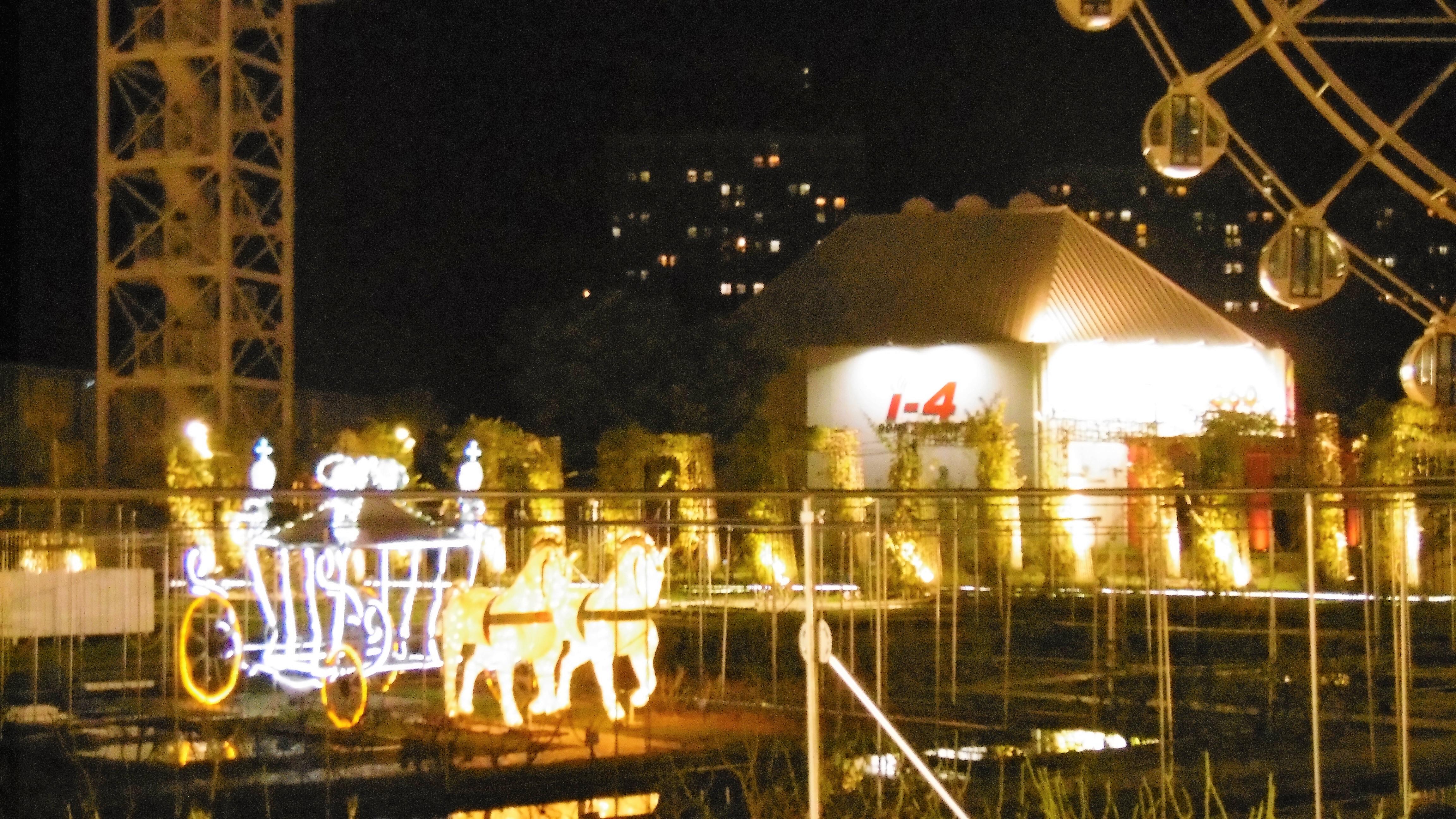 ハウステンボス 光の王国の回り方 アートガーデン