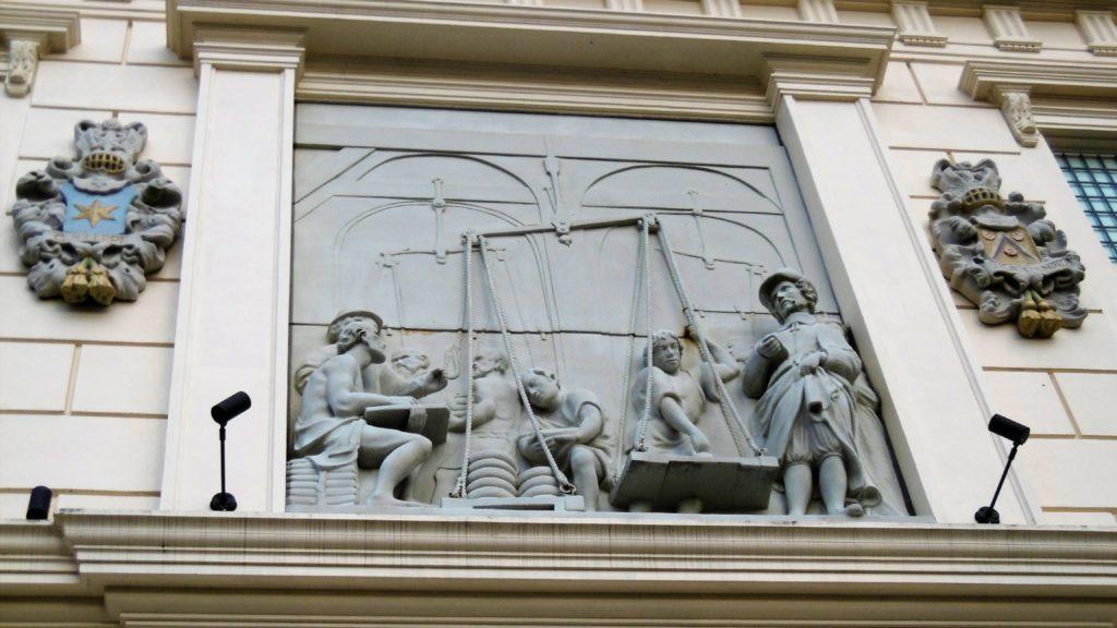 ハウステンボス アムステルダムシティの彫刻