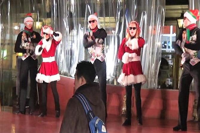 ハウステンボス ザ・ベスト・クリスマスのダンスショー