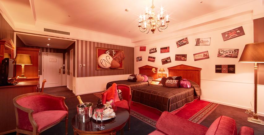 ハウステンボス ホテルアムステルダム、チョコレートルーム