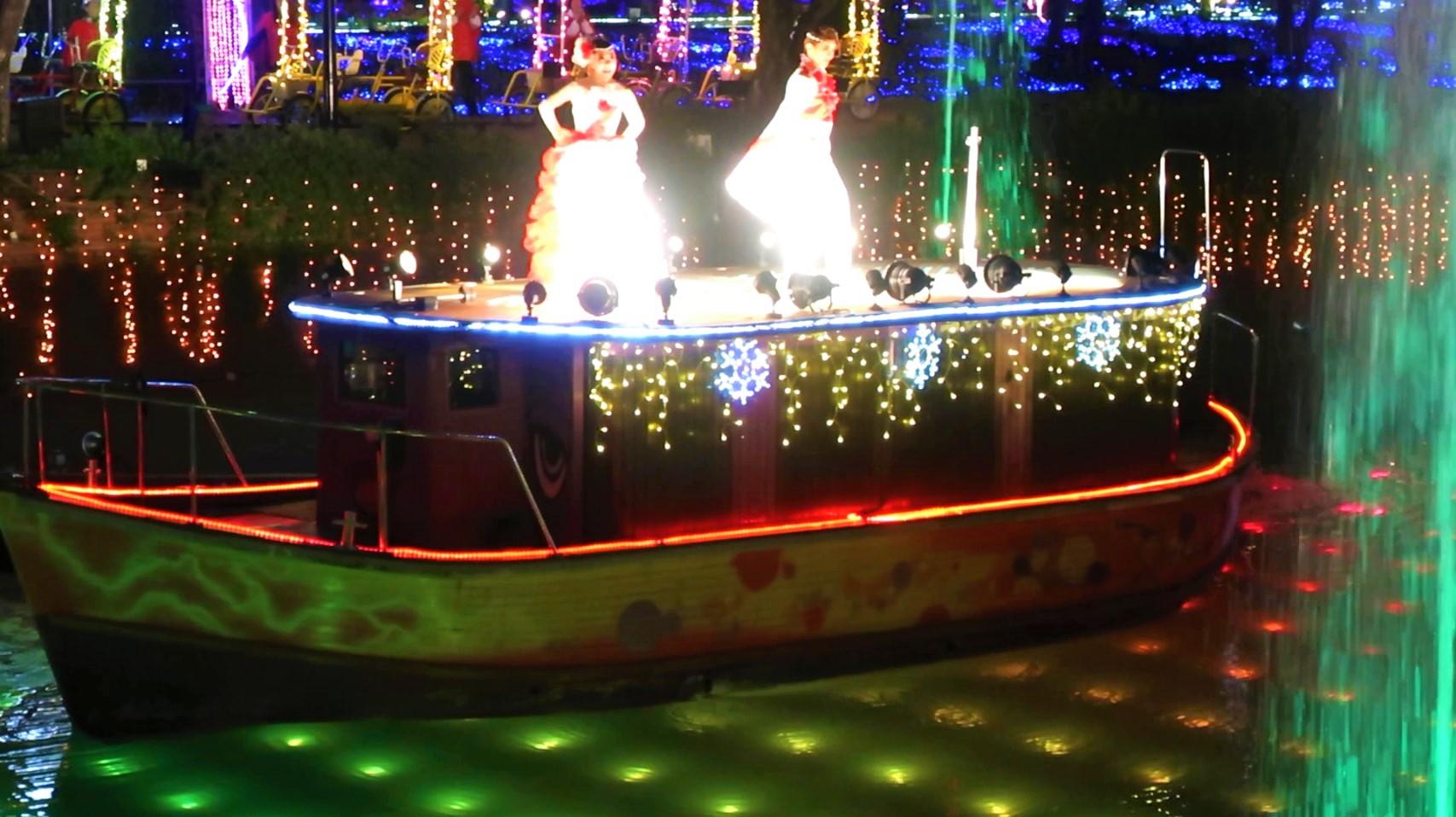 ハウステンボス 光の王国 回り方 水上ショー ハウステンボス歌劇団